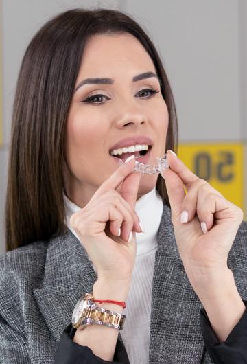 fullalign bezbolne i nevidljive folije za ispravljanje zuba